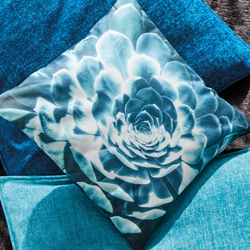 Grow cushion cover - fjord (40x40cm)
