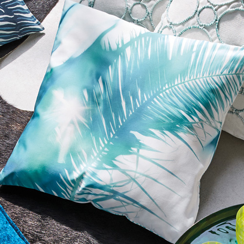 Blaze cushion cover - fjord (50x50cm)