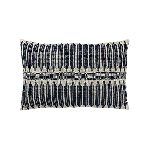 Aztec cushion cover - black & white (40x60cm)