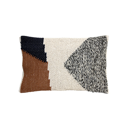 Knotted Autumn cushion cover - multi color (40x60cm) 속솜포함 제품