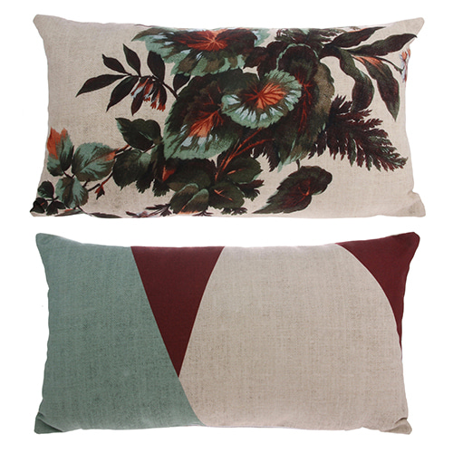 Kyoto cushion cover - multi color (35x60cm)
