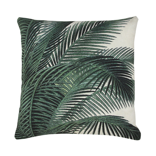 Palm Leaves cushion cover - printed (45x45cm)