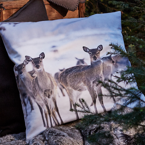 Silencio cushion cover - nature (50x50cm)